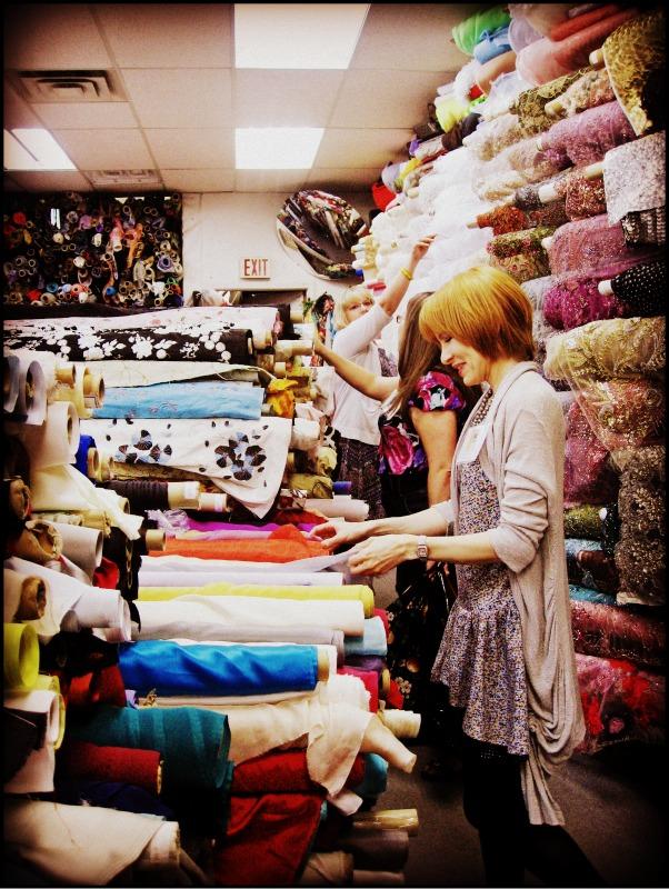 Fabric Fabrics Everywhere