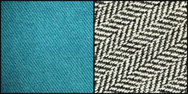 Twill and Herringbone Swatches.