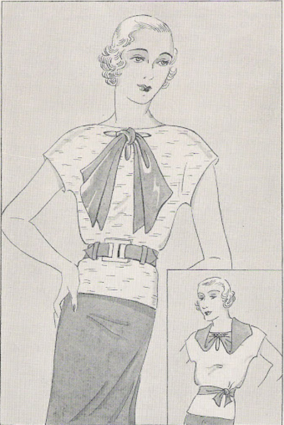 1930s Blouse Pattern