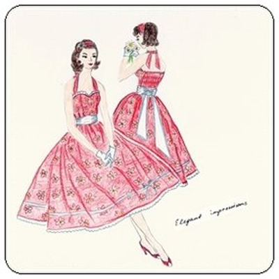 1950s Style Party Dress