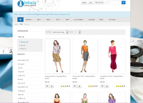 Lekala Sewing Patterns