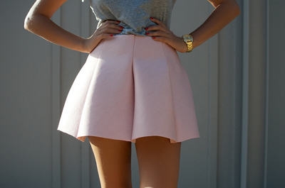 Neoprene Mini-Skirt Pattern
