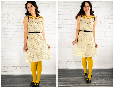 Partly Sunny Frock Pattern by Grosgrain Fabulous