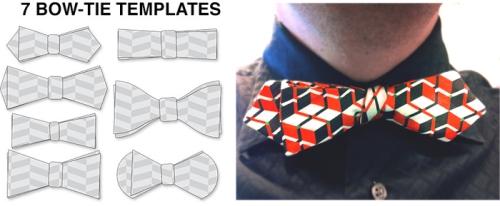 7 Bow-Tie Templates from Ponoko